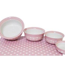 Rosewood Pink Polka Dot Placemat
