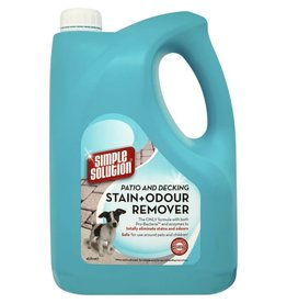 Simple Solution Patio & Decking Stain & Odour Remover 4 Litre