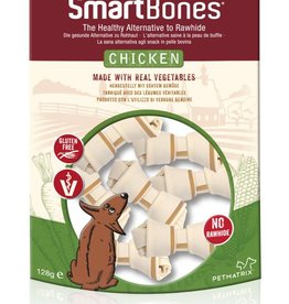 SmartBones Chicken Mini Bones Dog Treats, 8 pack