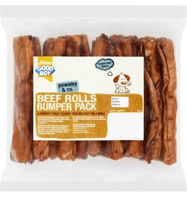 Good Boy Beef Flavour Rolls 155mm/6 inch Dog Treats, 340g
