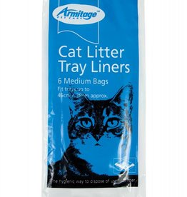 Armitage Cat Litter Tray Liners for Medium Trays