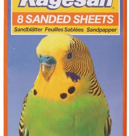 Armitage Kagesan No.3 Orange Sanded Sheets 35cm x 21cm,  8 pack