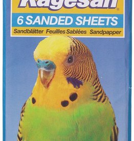 Armitage Kagesan No.5 Blue Sanded Sheets 40cm x 25cm, 6 pack