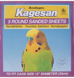 Armitage Kagesan Purple 33cm Diameter Round Sanded Sheet, 5 pack
