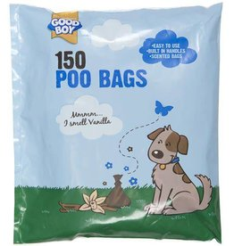 Good Boy Scented Poo Bags with Handles, pack of 150