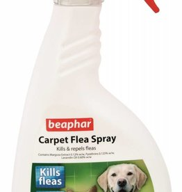 Beaphar Carpet Flea Spray Trigger Action 400ml