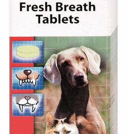 Beaphar Fresh Breath Tablets for Cats & Dogs, 40 Tablets