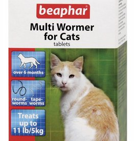 Beaphar Multiwormer Cat, 12 Tablets