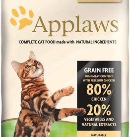 Applaws Complete Adult Dry Cat Food, 80% Chicken