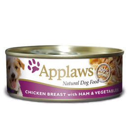 Applaws Dog Wet Food Chicken Breast with Ham & Vegetables 156g
