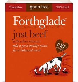 Forthglade Just Beef Grain Free Wet Dog Food 395g