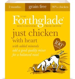 Forthglade Just Chicken with Heart Grain Free Wet Dog Food 395g