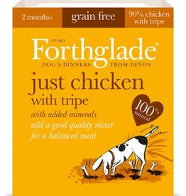 Forthglade Just Chicken with Tripe Grain Free Wet Dog Food 395g