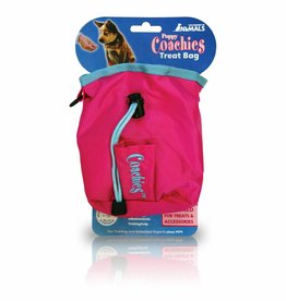 Company of Animals Puppy Coachies Treat Bag, Pink