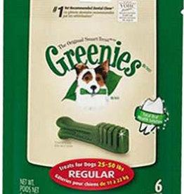 Greenies Dental Chews for Regular Dogs 11-22kg, 170g, 6 pack