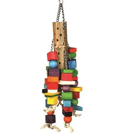Happy Pet Bamboo Supersize Wooden Bird Toy