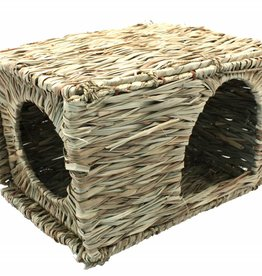 Happy Pet Grassy Hideaway for Small Animals, Large