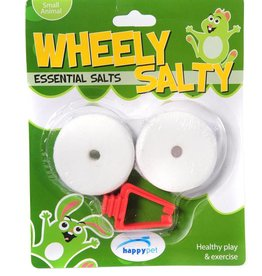 Happy Pet Wheely Salty Lick for Small Animals