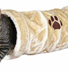 Trixie Playing Tunnel, Plush 22 x 60cm Beige