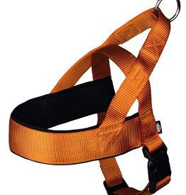 Trixie Premium Norwegian Comfort Nylon Dog Harness, Copper Orange
