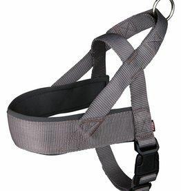 Trixie Premium Norwegian Comfort Nylon Dog Harness, Grey