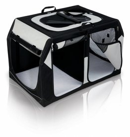 Trixie Vario Double Mobile Kennel Transport Box
