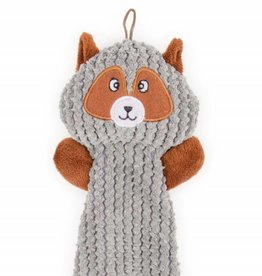 Ancol Grey Squirrel Flattie Dog Toy