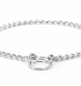 Ancol Heritage Fine Check Chain Dog Collar