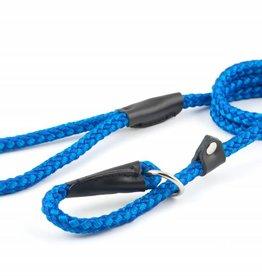 Ancol Heritage Nylon Rope Slip Dog Lead, 2 Tone Blue