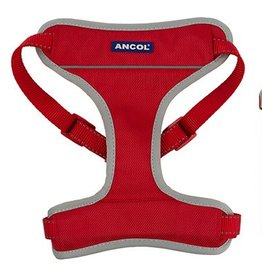 Ancol Nylon Travel Dog Harness, Red