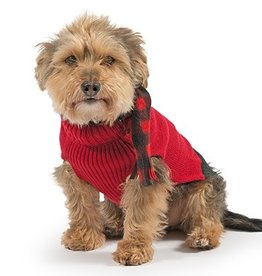 Ancol Red Dog Jumper with Scarf