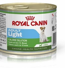 Royal Canin Adult Light Wet Dog Food Can 195g