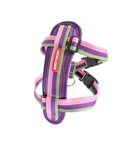 EzyDog Chest Plate Harness with Seat Belt Loop, Bubble Gum