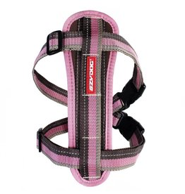 EzyDog Chest Plate Harness with Seat Belt Loop, Candy Stripe