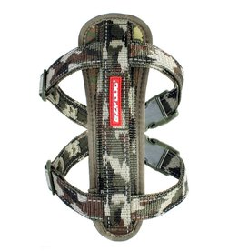 EzyDog Chest Plate Harness with Seat Belt Loop, Green Camouflage