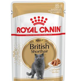 Royal Canin British Shorthair Cat Pouch in Gravy Wet Cat Food 85g