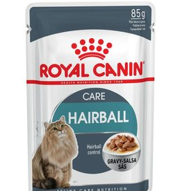 Royal Canin Feline Hairball Care Pouch in Gravy Wet Cat Food 85g