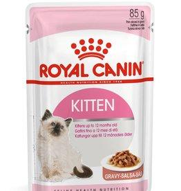 Royal Canin Feline Kitten Instinctive Pouch in Gravy Wet Cat Food 85g