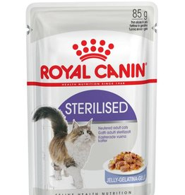 Royal Canin Feline Sterilised Care Pouch in Jelly Wet Cat Food 85g