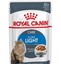 Royal Canin Feline Ultra Light Pouch in Gravy Wet Cat Food 85g