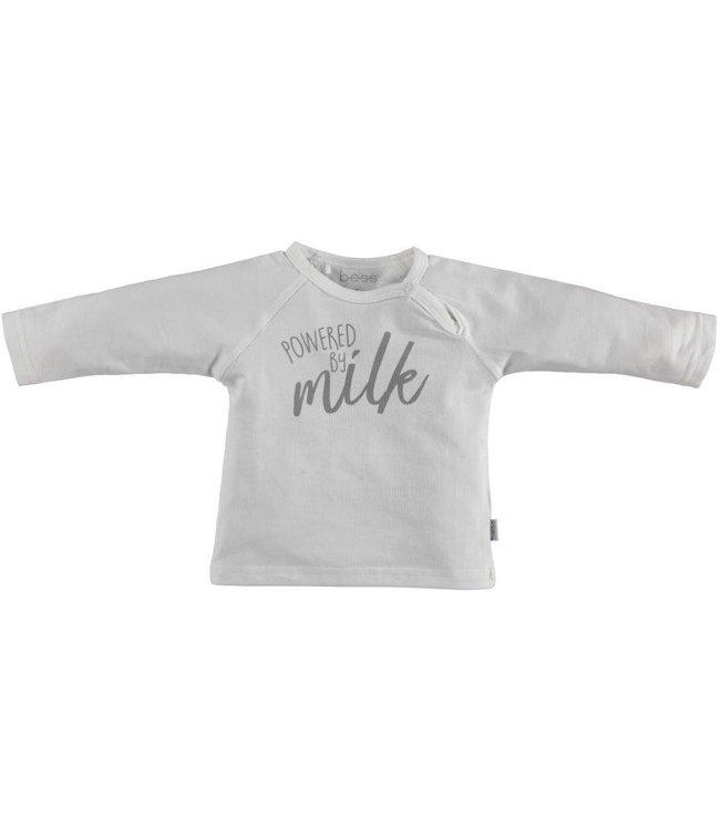 B.E.S.S.  Shirt unisex Powered by Milk