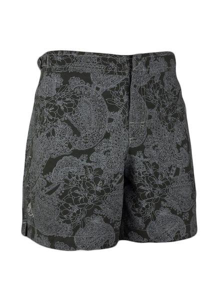 Cap Cala Llonga strój kąpielowy bez gumki w talii |  Oliwka