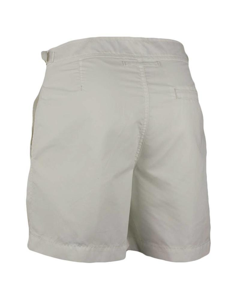 Cap Martinez strój kąpielowy bez gumki w talii | Biały