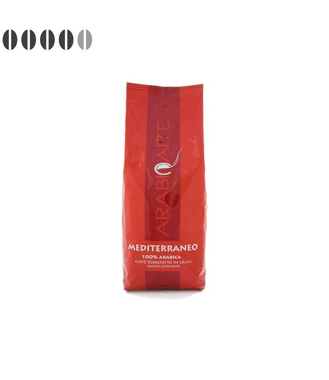 Arabicaffe Mediterraneo Italiaanse koffiebonen 1kg