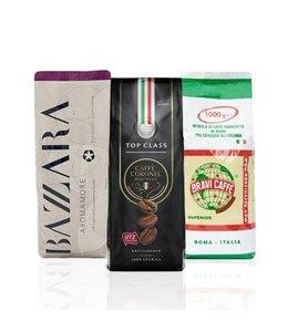Koffiepakket Italiaanse Espresso Cappuccino koffiebonen 3kg