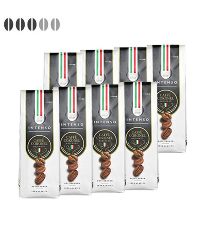 Caffè Coronel Intenso Italiaanse koffiebonen 8kg