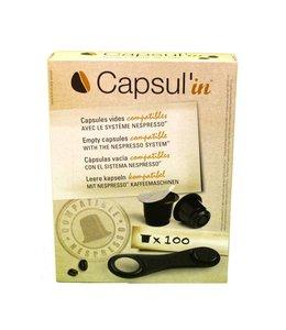 Capsul'in Compatible Nespresso® koffiecups 100 stuks