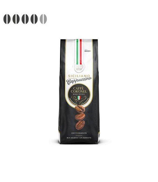 Caffè Coronel Siciliano Cappuccino koffiebonen uit Italië 1kg