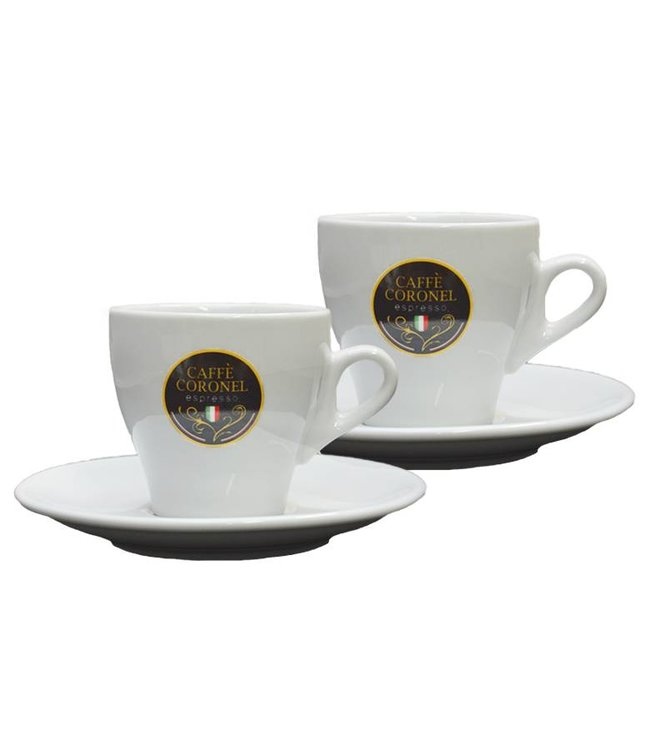 Caffè Coronel Caffè Coronel Italiaanse Lungokopjes 2 stuks