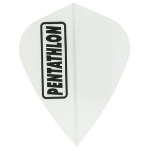 Pentathlon Solid Kite White